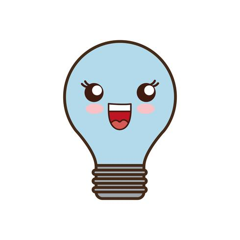 icona della lampadina vettore