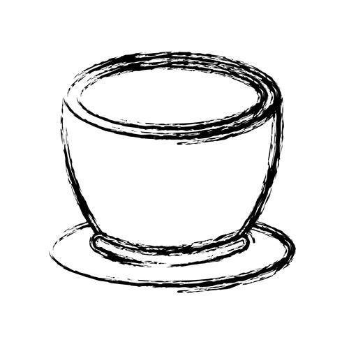 icona della tazza di caffè vettore