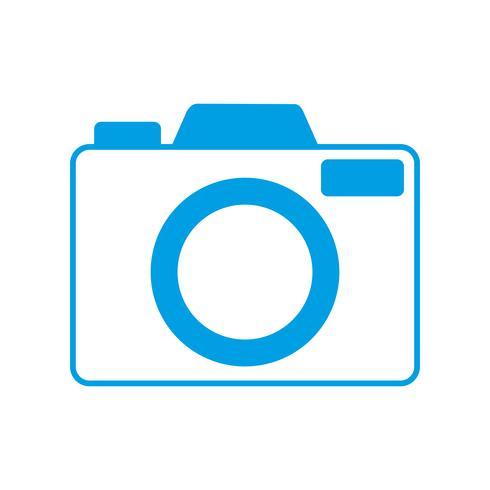 immagine dell'icona della fotocamera vettore