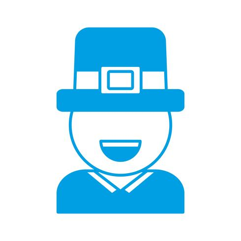 design del cappello irlandese vettore