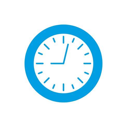 immagine dell'icona dell'orologio vettore