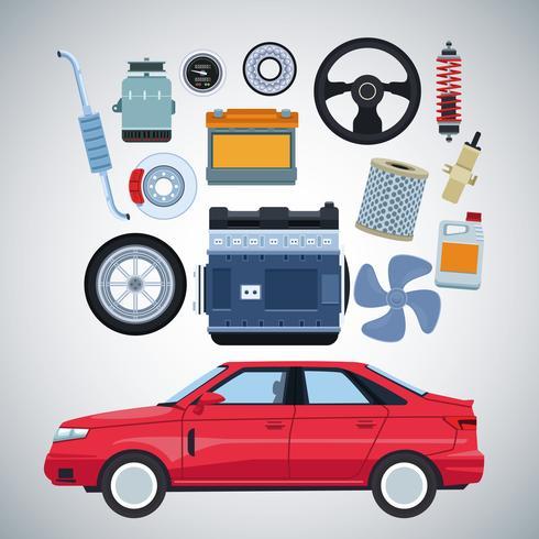 Fabbrica automobilistica e parti vettore