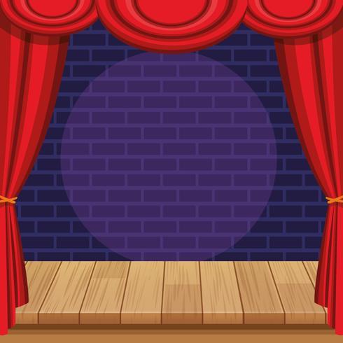 Spettacolo e teatro vettore