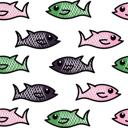 modello vettoriale di pesce