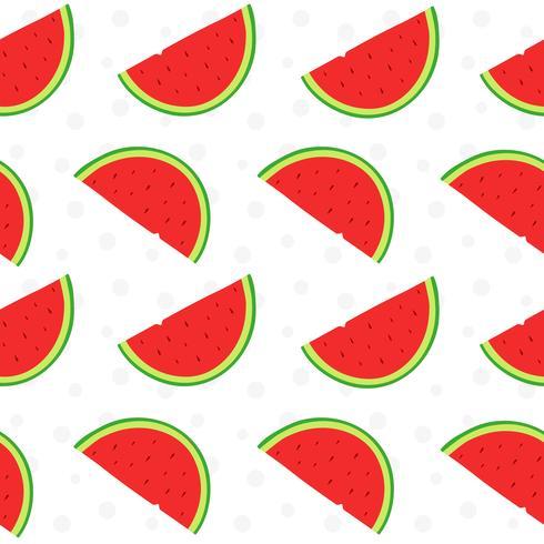 Modello di frutta anguria vettore