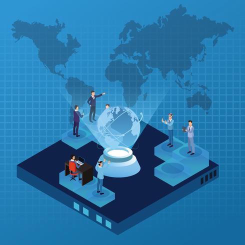 Idee sulla tecnologia digitale vettore