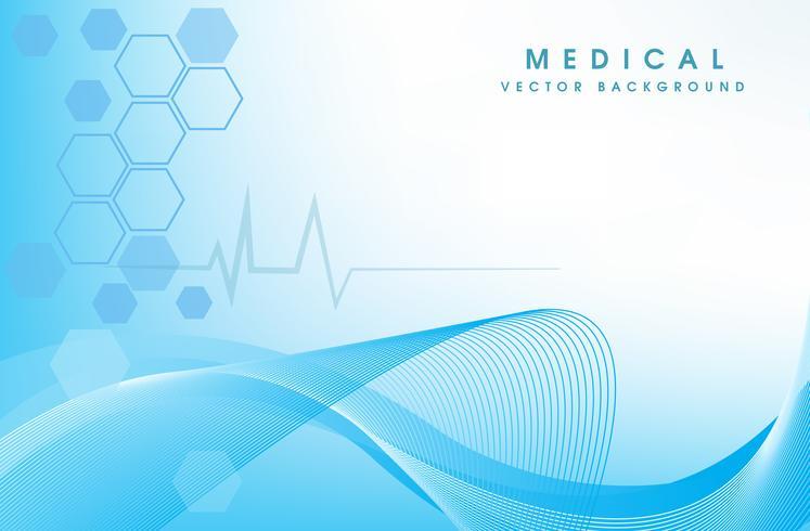 progettazione di vettore del fondo di concetto dell'innovazione di sanità.