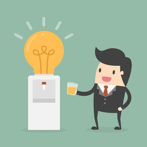 Raffreddatore d'acqua per ufficio con lampadina anziché serbatoio vettore