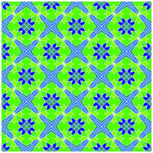 Motivo geometrico senza soluzione di continuità vettore