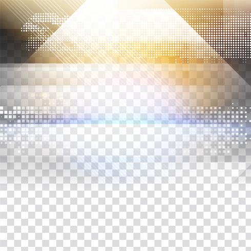 Astratto geometrico trasparente vettore