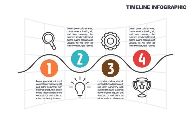 modello di business infografica vettore