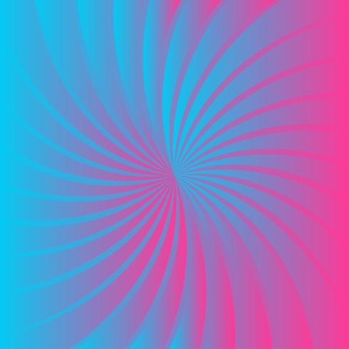 Sfondo blu forma rosa vettore