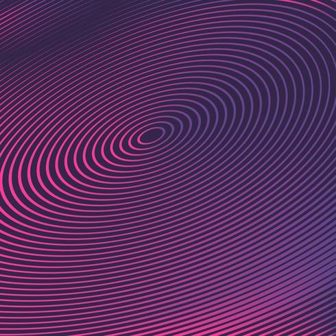 sfondo colorato illusione ottica vettore