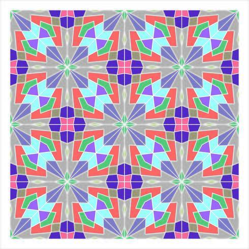 Modello senza cuciture geometrico di piastrelle vettore