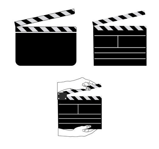 Valvole di pellicola su bianco vettore