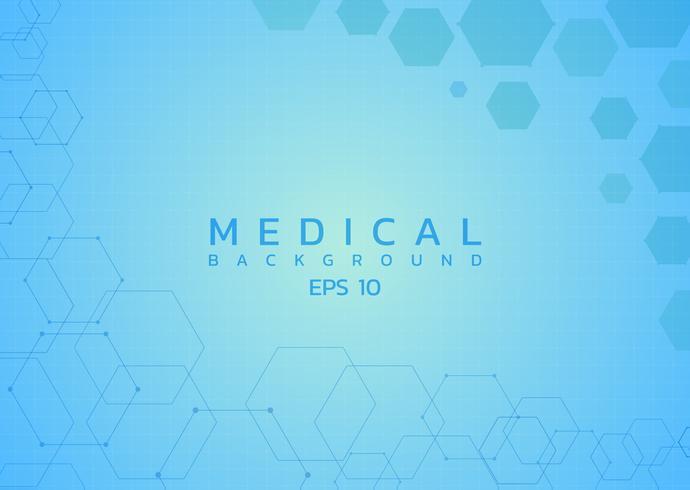 Stile di assistenza sanitaria di fondo medico vettore