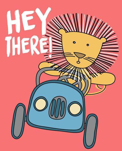 Ehi, leone vettore