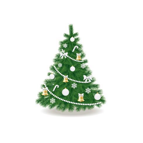 albero di Natale vettore