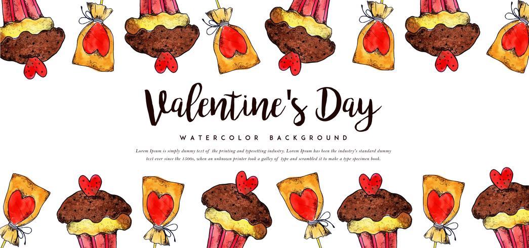 Banner Internet di San Valentino vettore