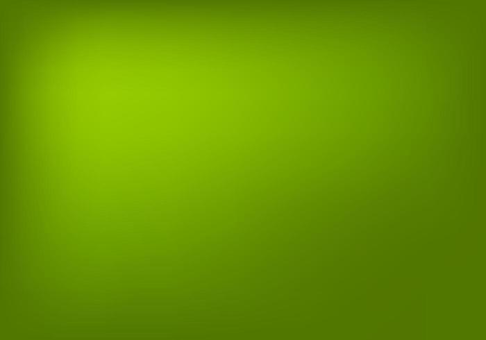 Sfondo verde sfumato piano vettore