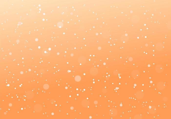 Priorità bassa della sfuocatura punteggiata minima arancione astratta vettore