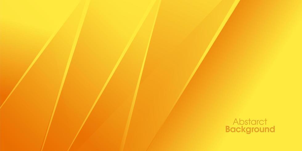 Sfondo di banner giallo brillante poster vettore