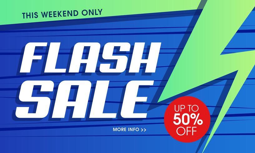 Sfondo vibrante con vendita flash moderna vettore