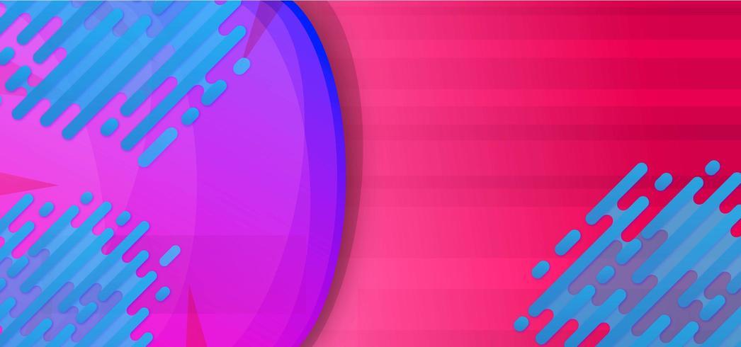 Neon sfondo fluido astratto vettore