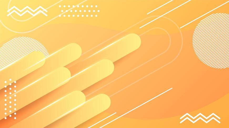 sfondo astratto striscia gialla sfumata vettore