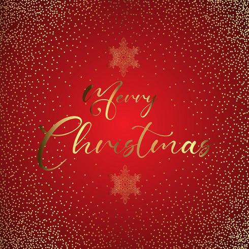 Sfondo scintillante di buon Natale vettore