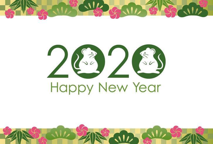2020 - l'Anno del Ratto vettore