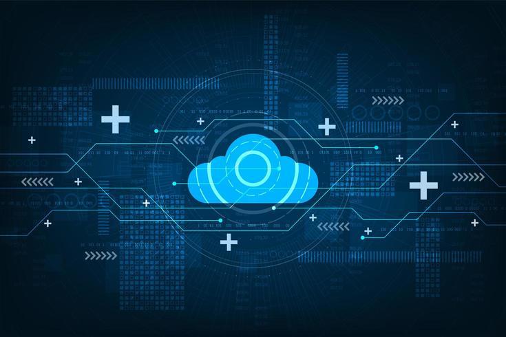 Cloud digitale e progettazione di circuiti vettore