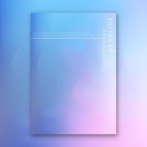 Sfondo colorato luminoso ologramma vettore
