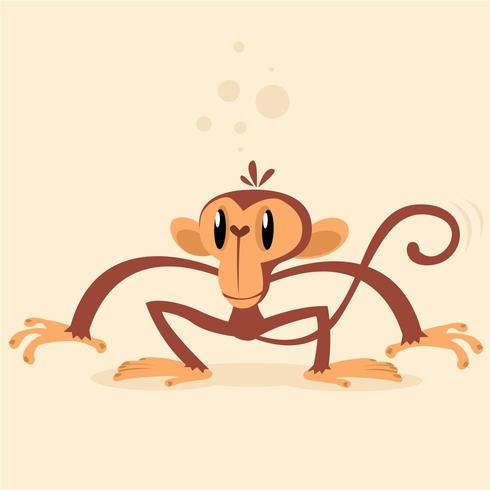 Scimmia scimpanzé vettore