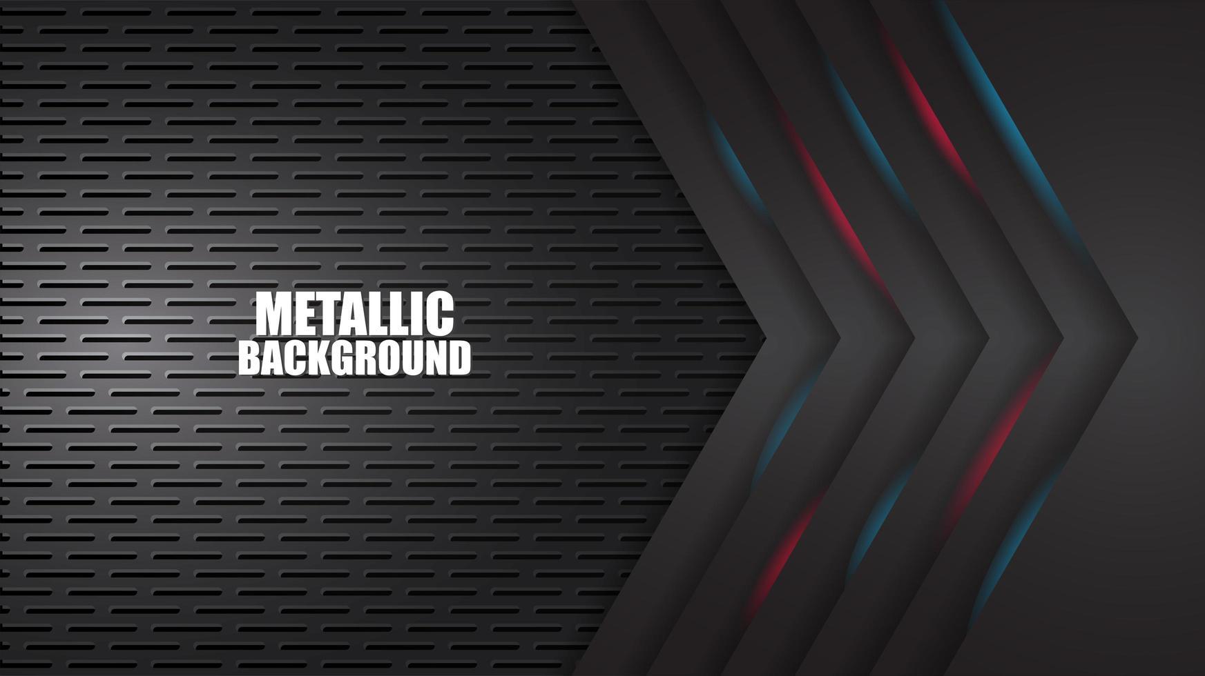 Sfondo nero e blu geometrico opaco nero vettore