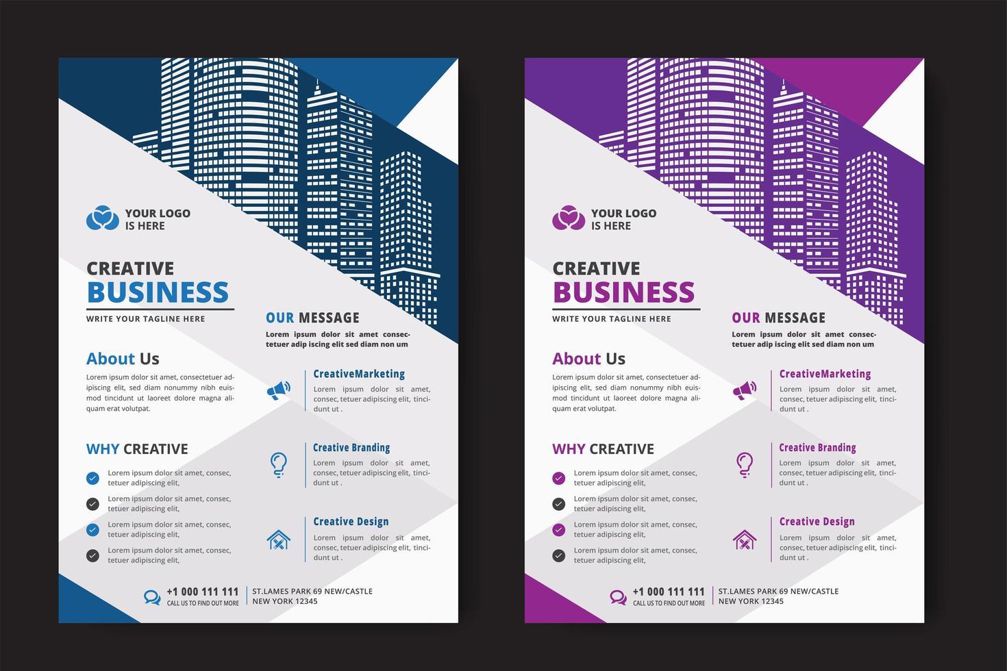 Modello di business aziendale vettore
