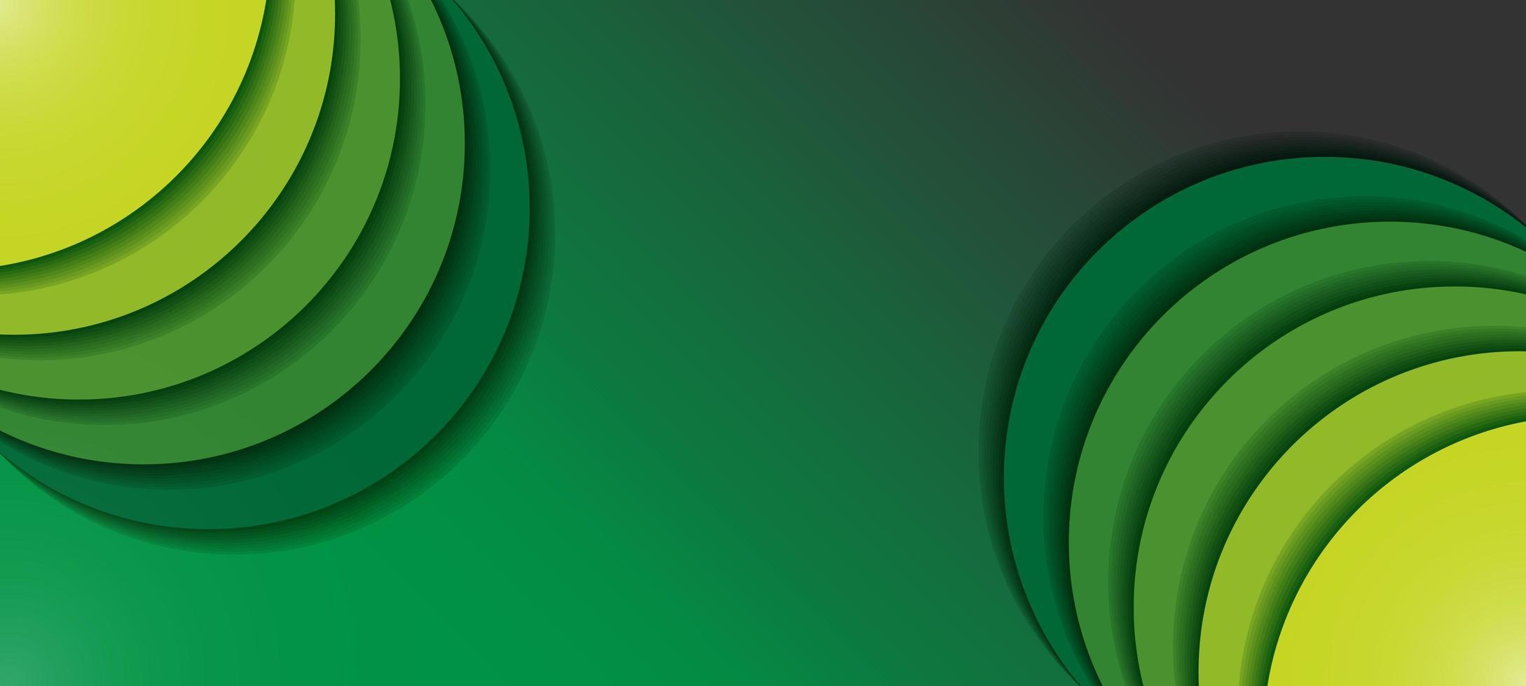 Sfondo verde sfumato eco vettore