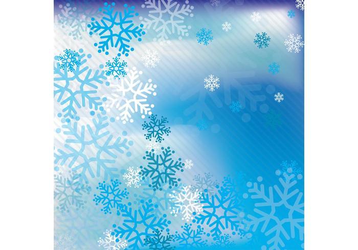 Sfondo vettoriale di neve