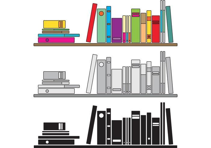 Pila di libri vettoriali