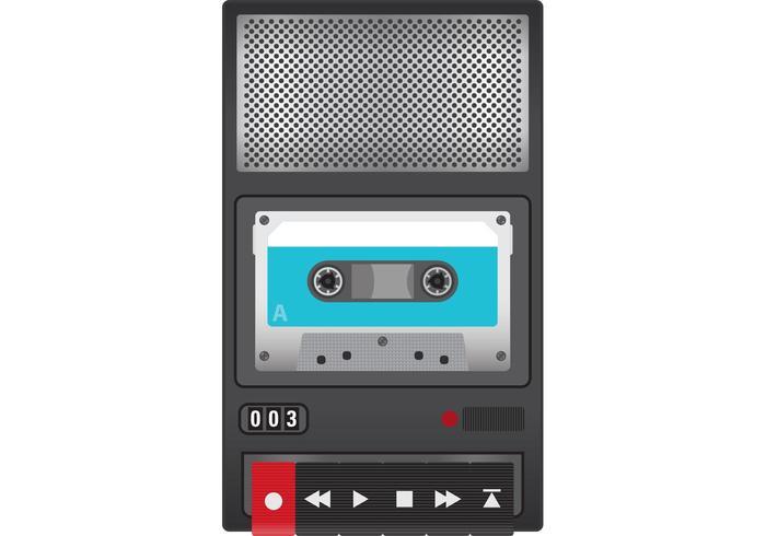 Vettore del registratore a nastro