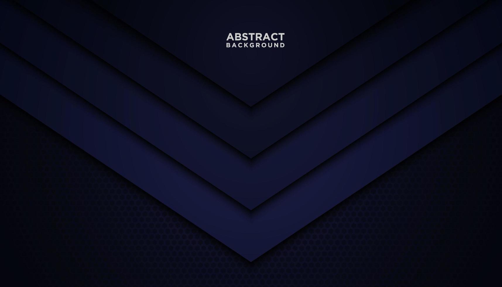 triangolo astratto blu scuro strati sfondo vettore
