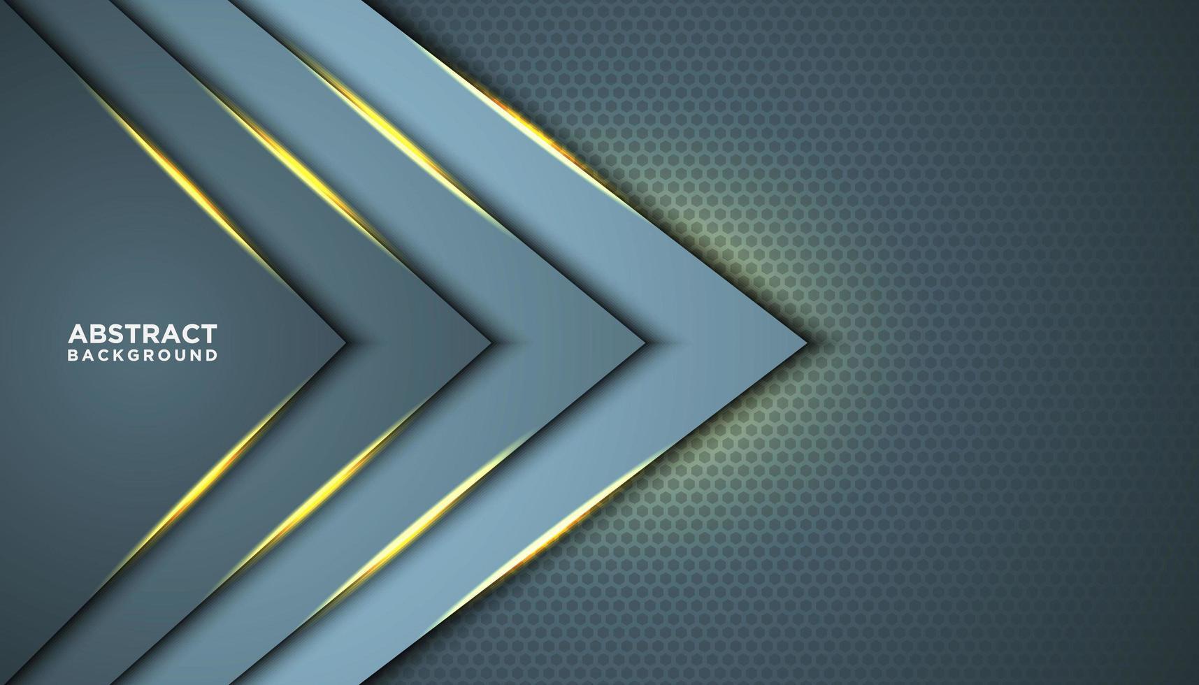 triangolo astratto con strati lucidi vettore