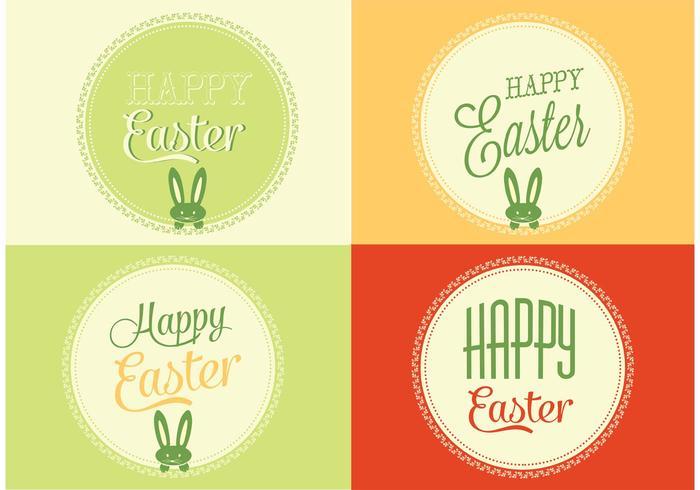 Sfondi vettoriali gratis di Pasqua