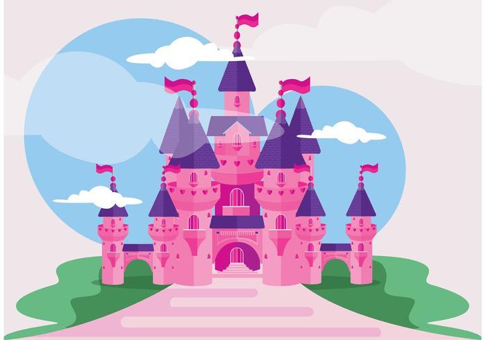 Castello della principessa vettore