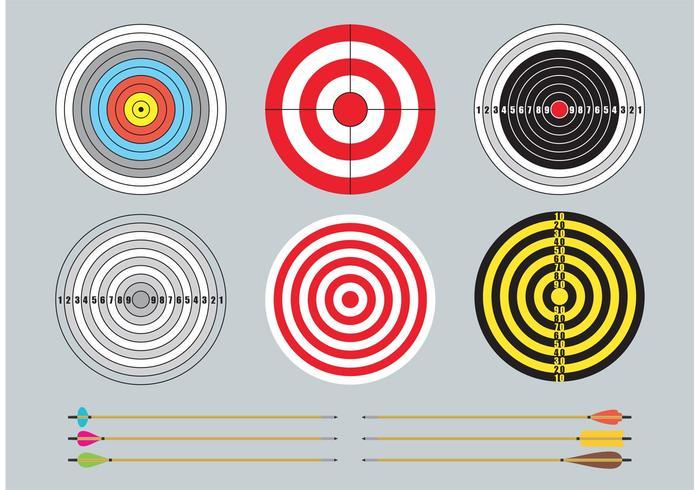 Obiettivi e frecce vettore