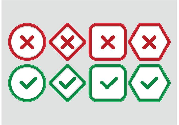 Correggi i simboli vettoriali errati
