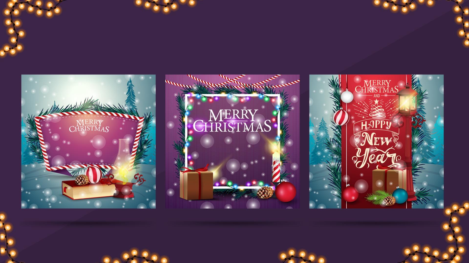 Sfondi Paesaggi Natalizi.Cartoline Di Natale Con Paesaggi O Sfondi Natalizi Per Le Tue Arti 1967130 Scarica Immagini Vettoriali Gratis Grafica Vettoriale E Disegno Modelli