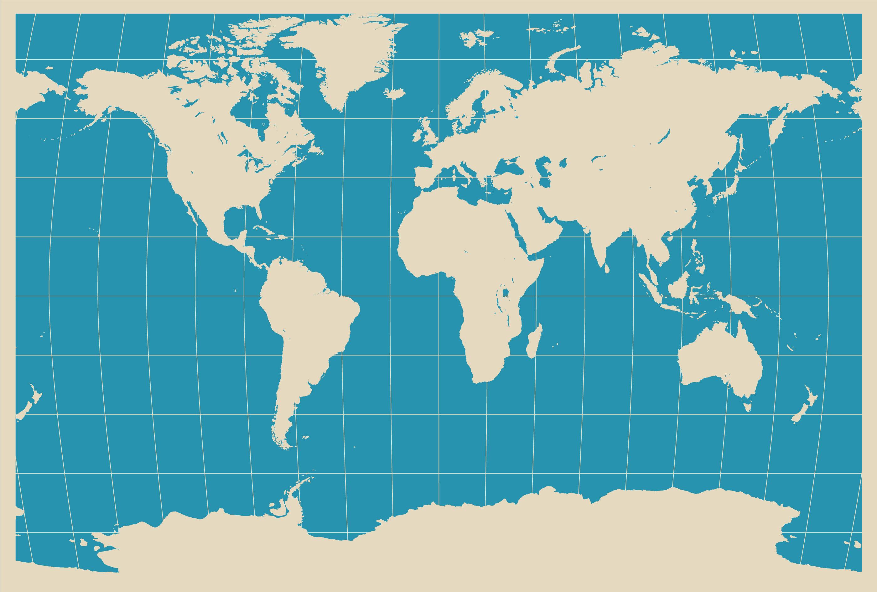 Cartina Mondo Vettoriale Gratis.Mappa Del Mondo Vettoriale 226356 Scarica Immagini Vettoriali Gratis Grafica Vettoriale E Disegno Modelli
