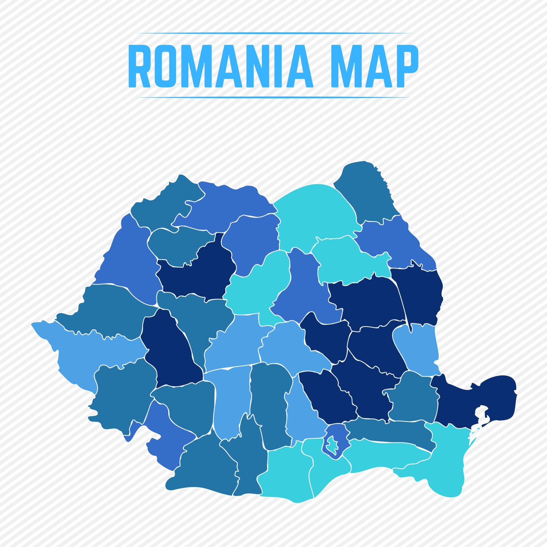 Cartina Dettagliata Romania.Mappa Dettagliata Della Romania Con Gli Stati 2292882 Scarica Immagini Vettoriali Gratis Grafica Vettoriale E Disegno Modelli