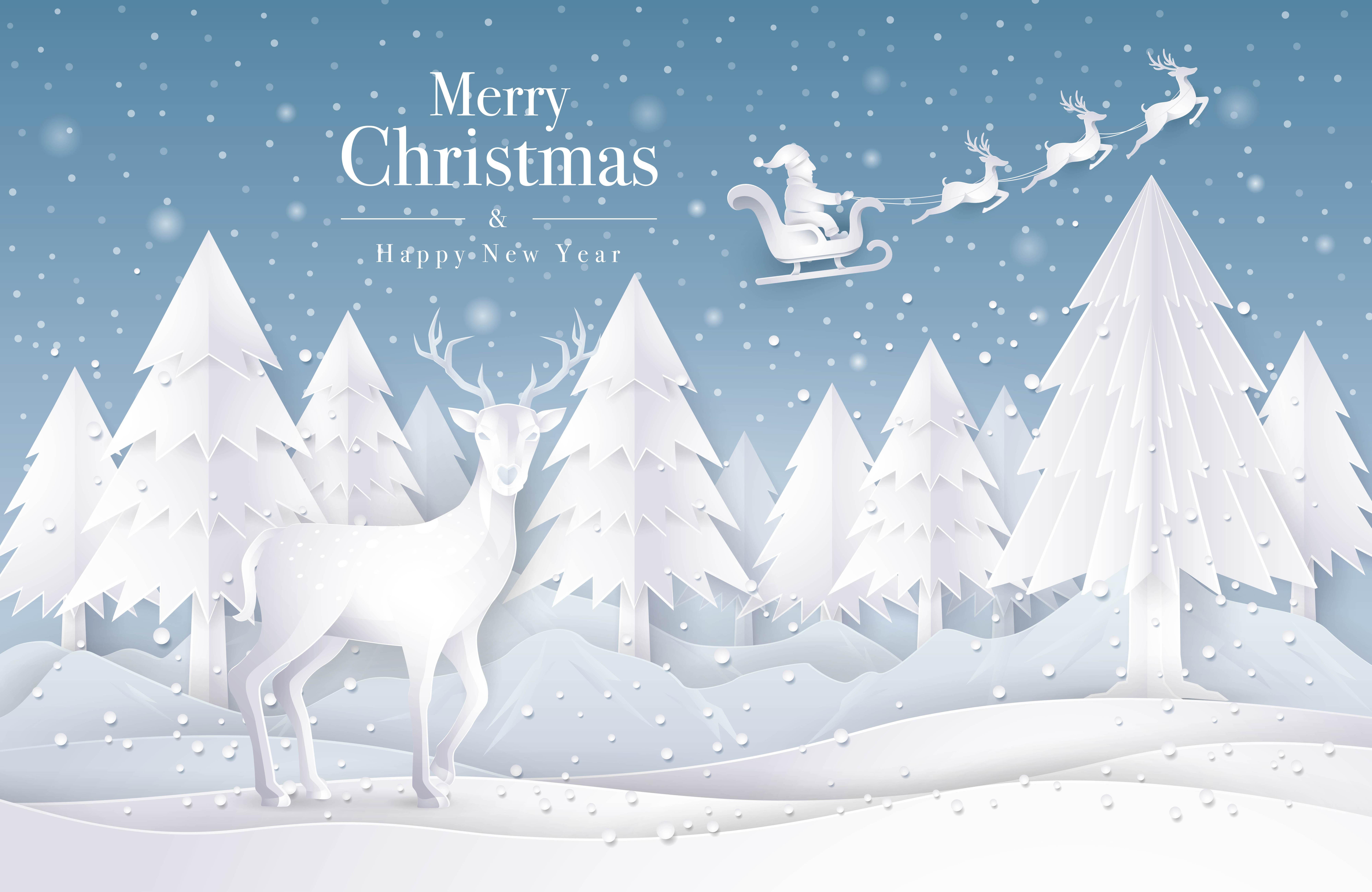 Foto Con La Neve Di Natale.Slitta Di Babbo Natale Che Vola Sul Cielo Con La Neve 673553 Scarica Immagini Vettoriali Gratis Grafica Vettoriale E Disegno Modelli